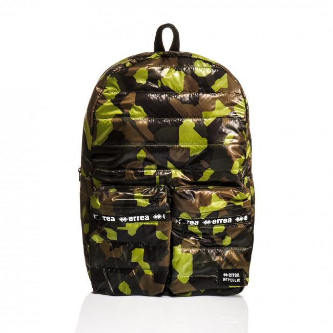 ESSENTIAL FW19/20 BACKPACK AD MILITARY PRINT - REPUBLIC