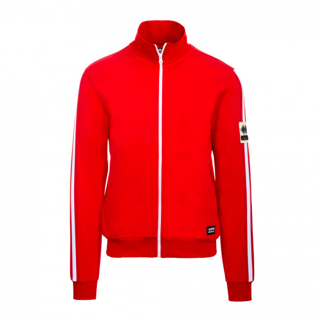 SPORT FUSION FW19/20 MAN PATCH HIGH NECK LINES SW AD ROSSO - REPUBLIC