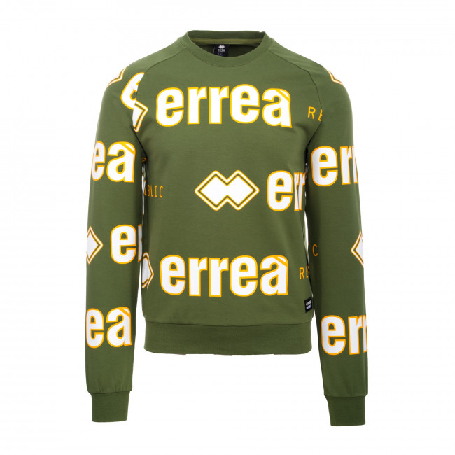 TREND FW19/20 MAN LOGO SWEATSHIRT JR VERDE_18-0322 - REPUBLIC