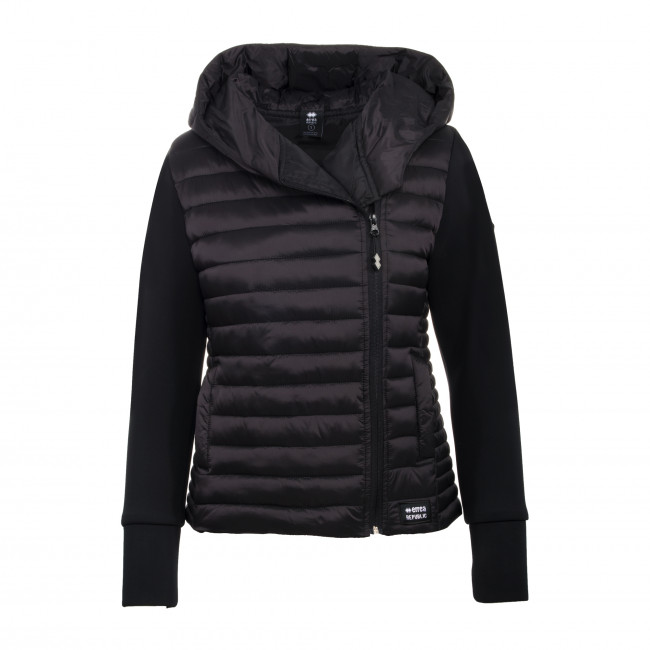 HYBRID FW19/20 WOMAN BOND JACKET AD NERO - REPUBLIC