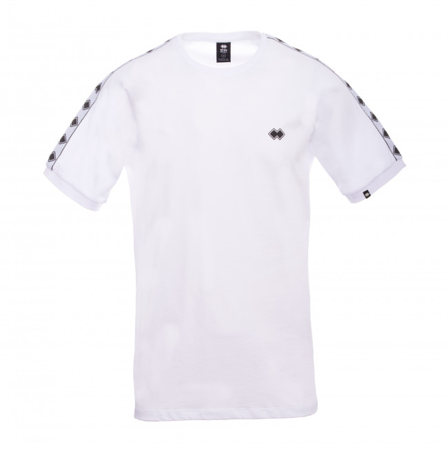 ESSENTIAL FW19/20 MAN BANDA T-SHIRT AD BIANCO - REPUBLIC
