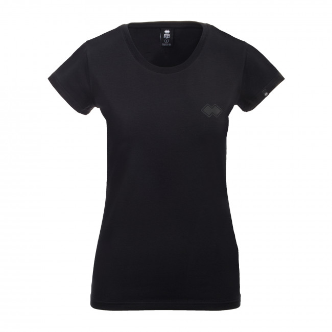 ESSENTIAL FW19/20 WOMAN FANTASY T-SHIRT SS JR NERO - REPUBLIC