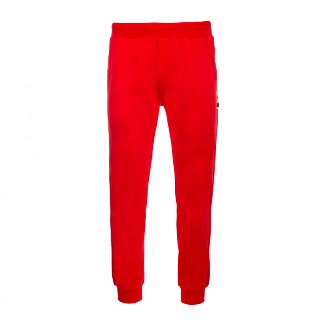 SPORT FUSION FW19/20 MAN PATCH TROUSERS AD ROSSO - REPUBLIC