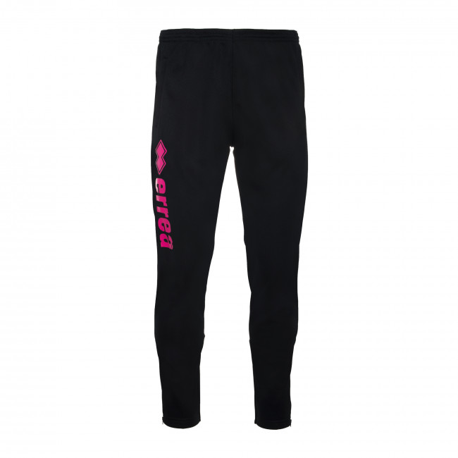 ESSENTIAL FW19/20 MAN DRAKE 1 TROUSERS JR NERO FUXIA_FLUO - REPUBLIC