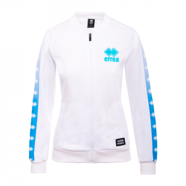 SPORT INSPIRED SS20 WOMAN PRINT BOMBER 120A JR BIANCO - REPUBLIC