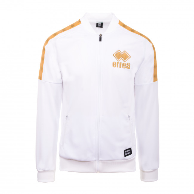 STRIPE CLASSIC SS20 MAN BOMBER 2 JR BIANCO ORO - REPUBLIC