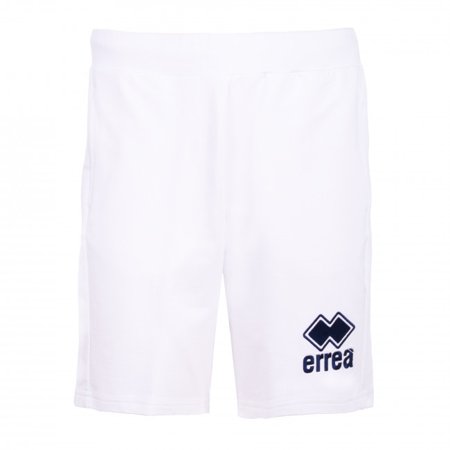 ESSENTIAL SS20 EMBROIDERY MAN BERMUDA  013 JR BIANCO - REPUBLIC