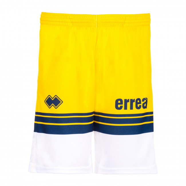 SPORT INSPIRED SS20 MAN RUGBY SPORT SHORT 041 AD GIALLO BIANCO - REPUBLIC