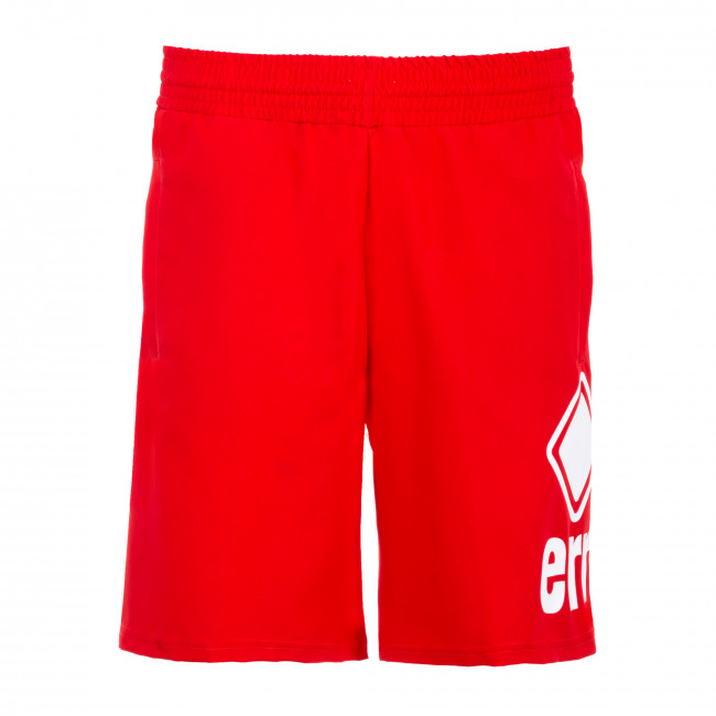 ESSENTIAL SS20 MAN LOGO SHORT NEW BASKET 0033 AD ROSSO - REPUBLIC