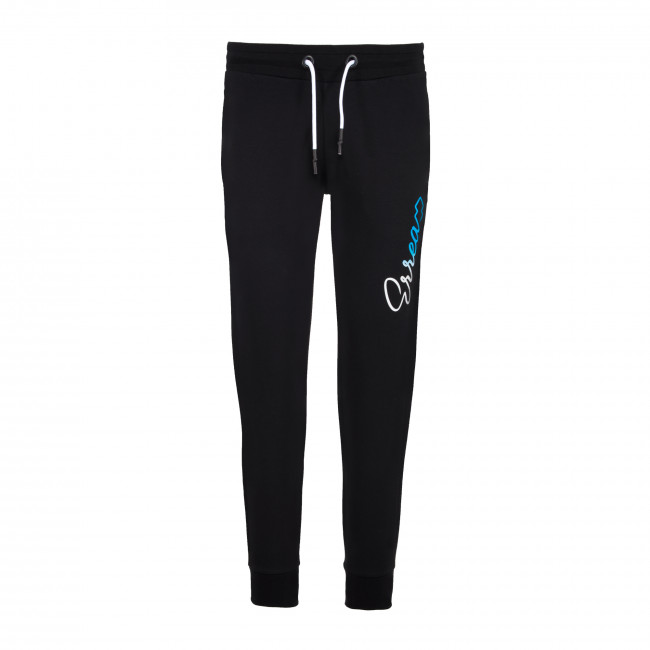 ESSENTIAL SS20 WOMAN NEW LOGO PANT 112 AD NERO - REPUBLIC