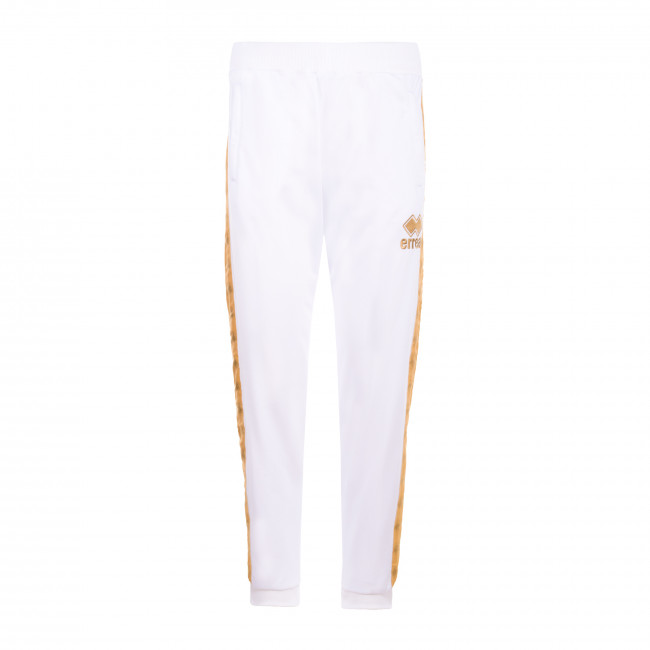 STRIPE CLASSIC SS20 WOMAN PRINT PANT 121B JR BIANCO ORO - REPUBLIC