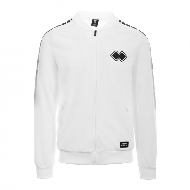 SPORT INSPIRED FW20/21 MAN BOMBER 019 JR BIANCO - REPUBLIC
