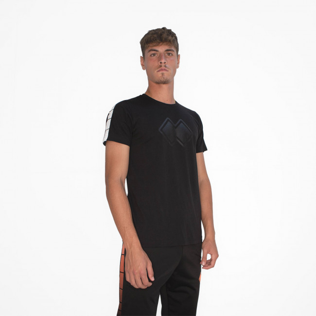 SPORT INSPIRED FW20/21 MAN T-SHIRT 016 MC AD NERO-4 - REPUBLIC
