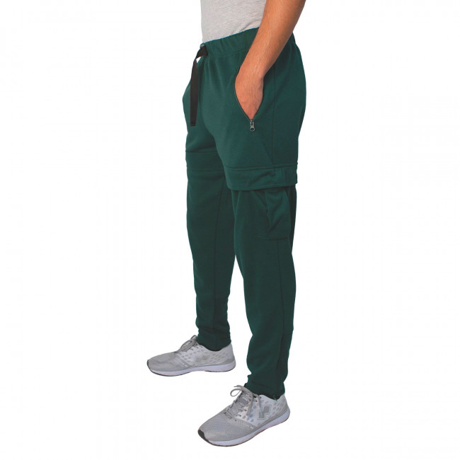 TECK PACK FW20/21 MAN CARGO TROUSERS 049 AD GREEN MUSK_4738-4 - REPUBLIC