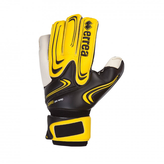 ZERO PRO WRAP GLOVES AD NERO GIALLO - ERREÀ