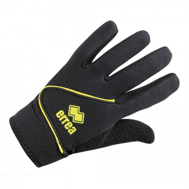 STEEL GOALKEEPER GLOVES JR NERO GIALLO - ERREÀ