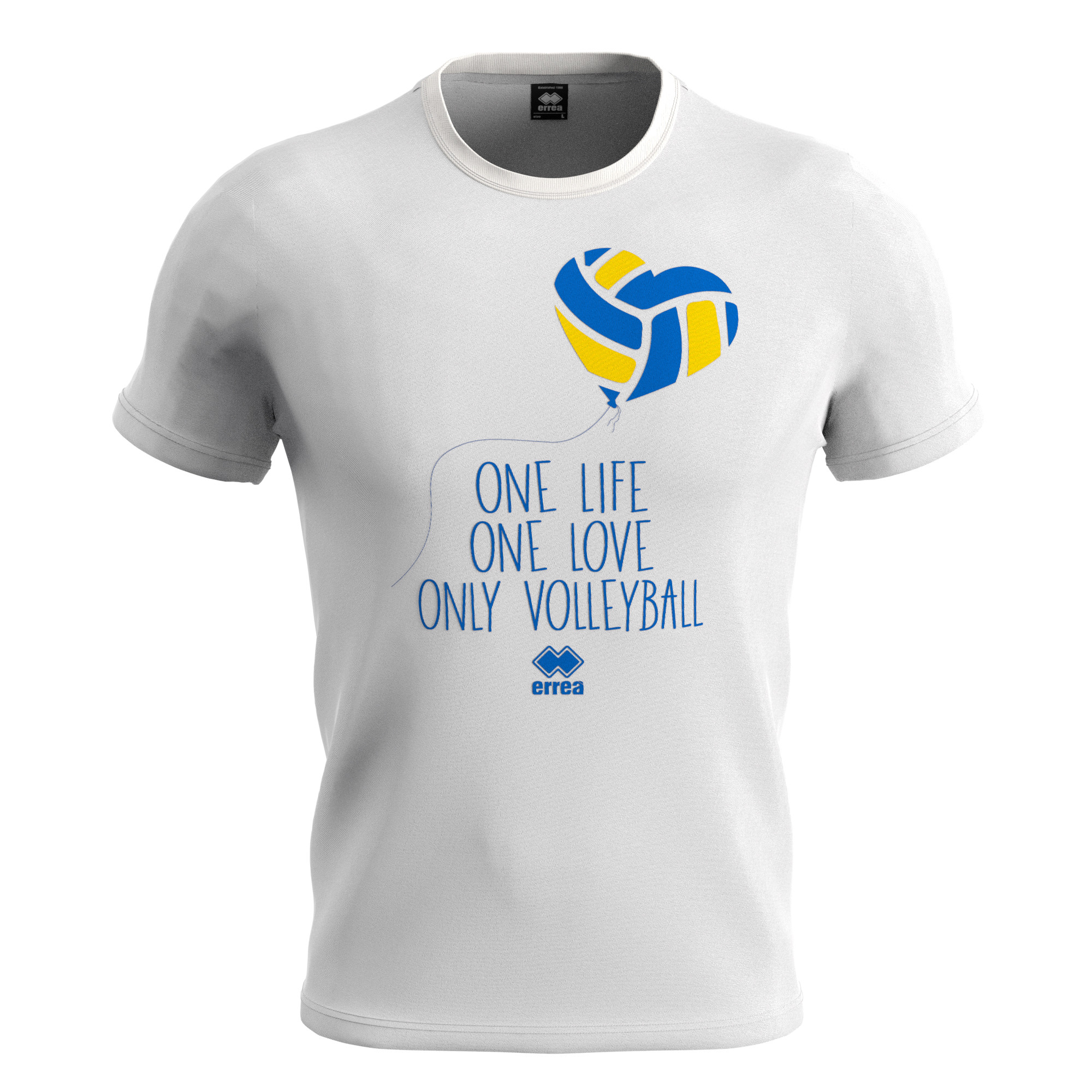 T-SHIRT VOLLEY ONE LOVE MC AD