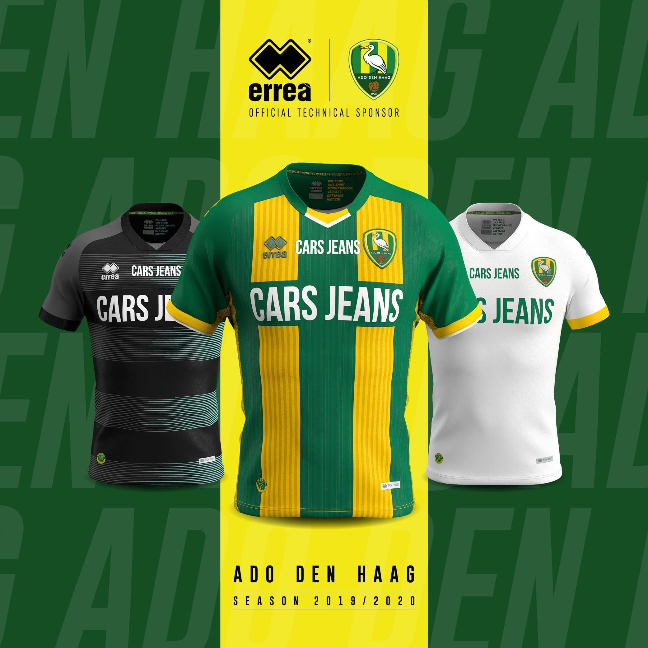 News Innovative Modern And Elegant The New 2019 2020 Kits By Errea Sport For Ado Den Haag Errea