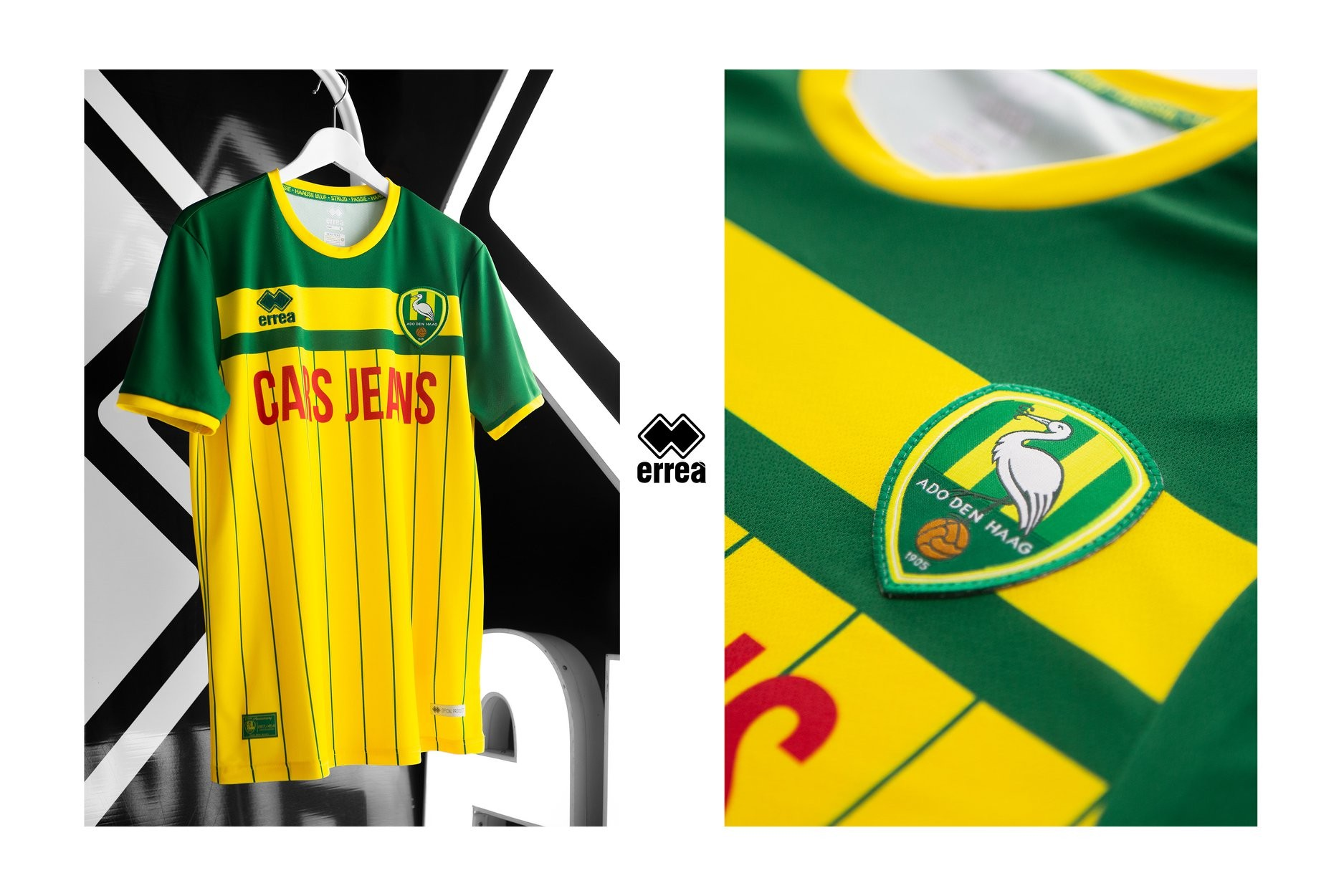 News Errea Sport And Ado Den Haag Unveil The Celebratory Shirt Produced To Mark The Club S 115th Anniversary Errea