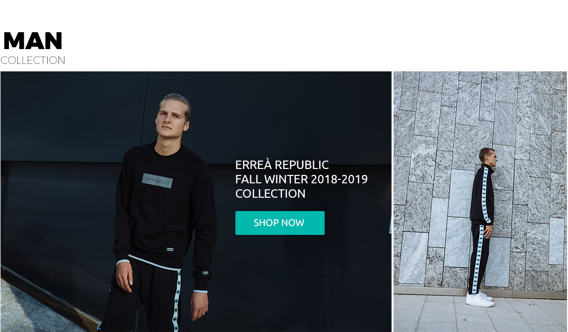 Errea Republic Men Collection